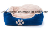 폴리에스테 최고 연약한 애완 동물 침대