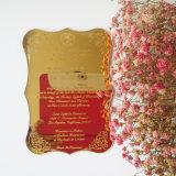 Custom belos convites de acrílico fará o seu casamento exclusivo.