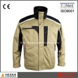 Мужская одежда из полиэфирного волокна хлопка Workwear работы куртка безопасности