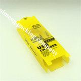 Известным коробка пакета USB PVC гастронома подгонянная тавром желтая пластичная с печатание 3D (коробка пакета USB)