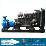 Tipo horizontal bombas del caso de la fractura de agua accionadas por el motor diesel
