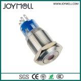 Ce LED de alta calidad eléctrica Metal pulsador azul