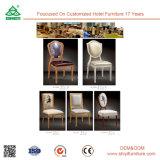 Mobília de madeira do restaurante da entrada do hotel que janta a cadeira