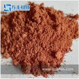 Pó de polir vermelho da Terra Rare com D50 1.3 Micron