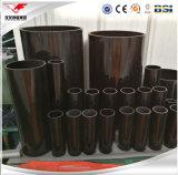 O preto pintou a tubulação de aço soldada ERW de carbono