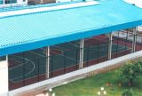 Cancha de básquet del edificio de la estructura del marco de acero