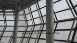 Vidro de impressão de seda de tamanho grande para decoração de edifícios