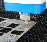 Ökonomische Laser-Ausschnitt-Maschine der Faser-300With500W für Werbebranche