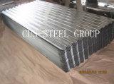 La couleur en acier revêtu de la plaque de toiture/feuille galvanisé prérevêtu