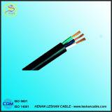 R conducteur de cuivre isolés de PVC et de la gaine 3*BVVB fil plate 2,5 mm2