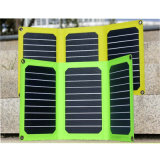 55W IP65のモノラル携帯用太陽エネルギーシステム再充電可能な防水充電器