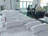 Ausgefällter Silikagel-Plastikgummi zerteilt 30°