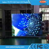 Estrutura de design exclusivo P3 Flexible Display LED