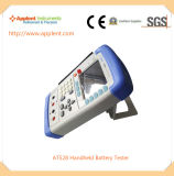 전압 측정 범위 0.0001V-50.00V (AT528)를 가진 이동할 수 있는 건전지 검사자