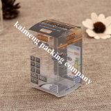 Chine 100% Transparent Clear Pet Plastic Foldable Box for Sale