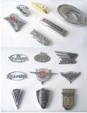 Kundenspezifisches ABS Chrom überzogenes Auto-Abzeichen, Auto-Emblem, Auto-Aufkleber