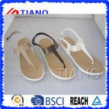 Sandália de tanga de geléia bonita para mulheres (TNK50037)