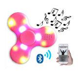 Hilandero plástico de la persona agitada del LED con el altavoz de Bluetooth