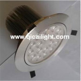 18X1w shell blanco LED Downlight
