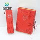Новая коробка печатание книга в твердой обложке коробки питья подарка/бумаги вина конструкции упаковывая