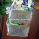 Напечатанный таможней мешок плоского дна BOPP прозрачный для упаковки конфеты подарка
