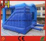 Combinazione gonfiabile su ordinazione per i capretti, rimbalzante castello gonfiabile per la trasparenza commerciale e gonfiabile