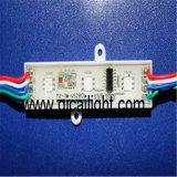 Injeção 3030 com o módulo impermeável do diodo emissor de luz da lente