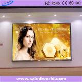 Écran polychrome de location d'intérieur de panneau de l'Afficheur LED P3.91 pour annoncer (CE, RoHS, FCC, ccc)