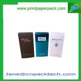 El perfume cosmético de la impresión de arte del favor de gama alta del papel bate el rectángulo de empaquetado