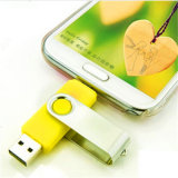 Rotatable Design USB Memory Flash OTG Drive