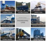 60m3/H concrete het Groeperen Installatie met de Transportband van de Riem (HZS60)