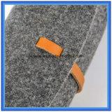 シンプルな設計OEMのウールは偶然のハンドバッグを、昇進のギフトのパッキング運ぶ袋を感じた