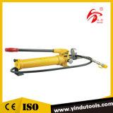 압력 계기 (CP-700-2)를 가진 수동 유압 펌프