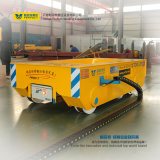 Equipo de manipulación de materiales del carro de la transferencia del en-Carril de 50 toneladas