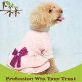 Теплое платье любимчика одежд зимы собаки
