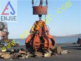 Garra Elétrico-Hidráulica da Multi-Pétala de controle remoto hidráulica elétrica da garra da casca alaranjada da areia