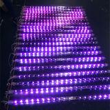 Luz de la cadena del meteorito los 80cm de la precipitación LED del brillo para la iluminación al aire libre