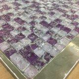 フォーシャンの製造業者のひびの内部のホーム(G815011)のためのガラスモザイクタイル