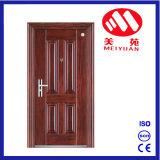 الصين رخيصة وحيدة فولاذ أمن باب معلنة باب حديد [دوور نتري دوور] غرفة باب