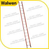 De nieuwe Komende Ladder van de Glasvezel van Één Sectie Rechte Ladder Geïsoleerdes