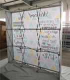 2015 Nouveau Trade Show Stand de pliage printemps Pop up Stand / Ressort Pop up Stand