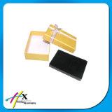 Verpakkende Vakje van de Juwelen van het Document van de fabriek het Prijs Gepersonaliseerde