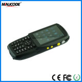 人間の特徴をもつタッチ画面手持ち型の移動式ターミナル、産業PDAのバーコードのスキャンナー、バーコードのデータ収集装置、Mj PDA3501