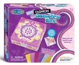 Niños color de bricolaje Pegar Joyero juguete pegajoso Mosaico-Moda