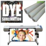 90g sec «papier de transfert de la sublimation instantané 63 pour des sports et des textiles fonctionnels