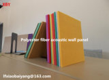 Panel de tabla de pared interior de fibra de poliéster acústica