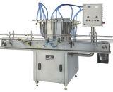 Máquina de etiquetado linear automática de la máquina de rellenar del agua de la bebida