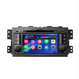 GPS automatique pour KIA Mohave Barrego avec Bluetooth FM Am USB DVD iPod DVB-T Moniteur LCD