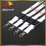 Lanière de courroie de collet de sublimation avec des accessoires de crochet en métal
