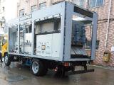 Sistema de tratamiento móvil de aguas residuales